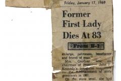 Fay Dies in Charlotte
