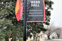 Webb Hall Sign
