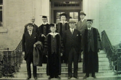 Governor Gardner at Wilson Library.1929
