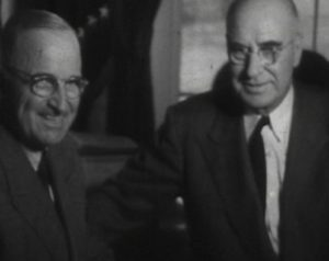 Governor gardner with president truman
