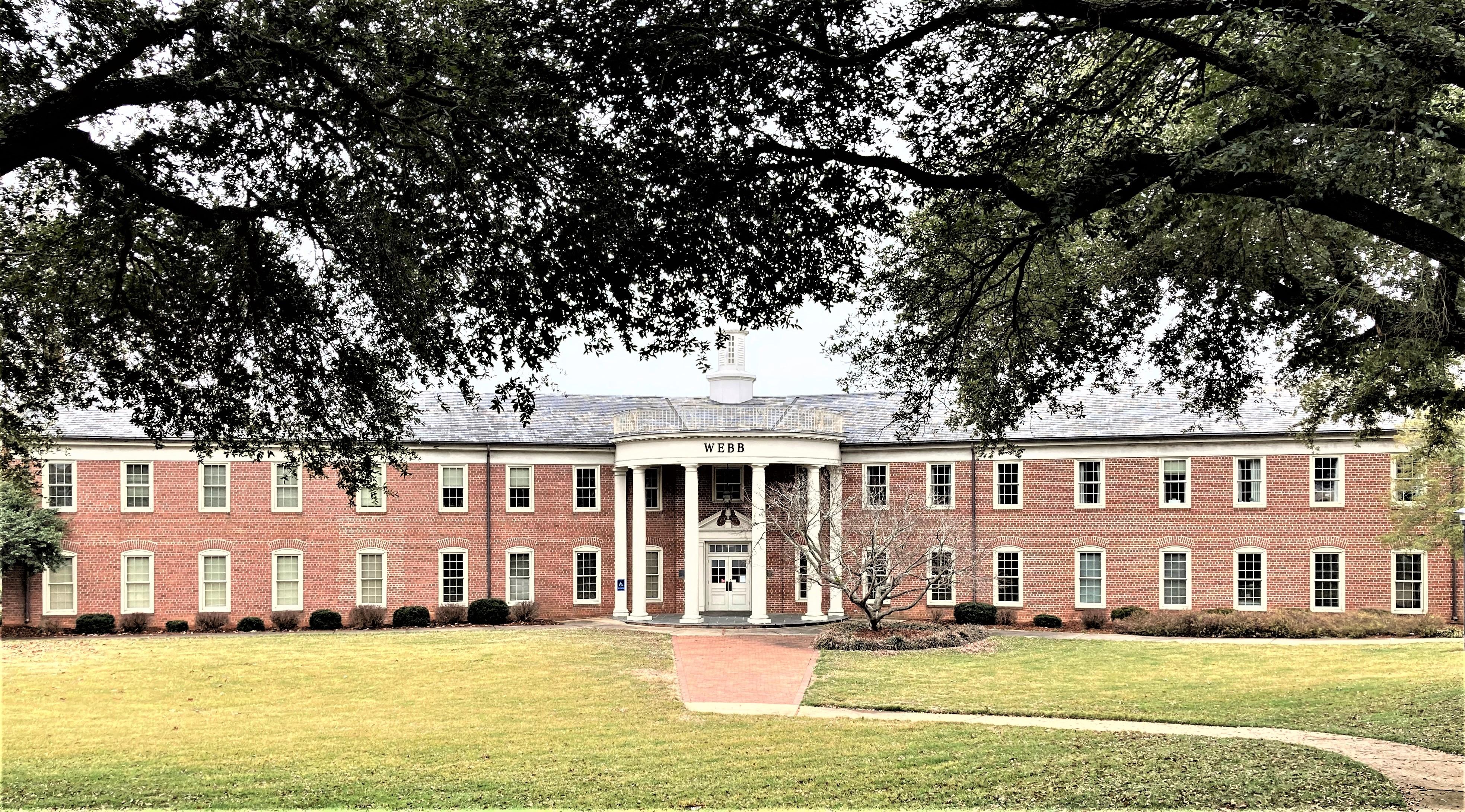 Webb Hall - Front