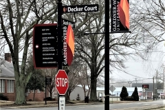 Decker Court Sign